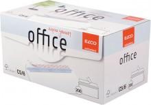Elco FSC Briefumschlag DIN Lang, Haftklebung, hochweiß, 80g, Innendruck