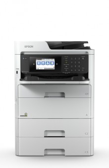 Multifunktionsgerät WorkForce Pro WF- C579RD2TWF, A4 + A3, inkl. UHG