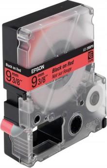 Schriftbandkassette LC-3RBP9 pastell, schwarz auf rot
