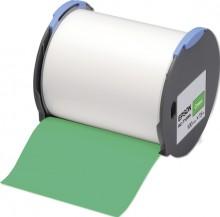 Kunststoffetiketten RC-T1GNA für LW Pro 100, 100mm x 15m, grün