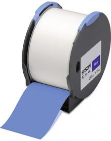 Kunststoffetiketten RC-T5LNA für LW Pro 100, 50mm x 15m, blau