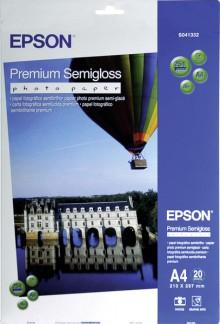 Fotopapier Premium Semigloss A4, 251g/qm für Inkjet Drucker