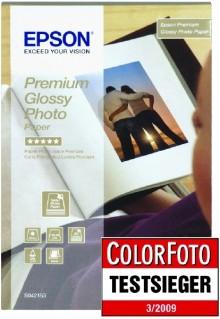 Fotopapier Premium Glossy Photo, 10 x 15 cm, 255g/m², Beste Qualität
