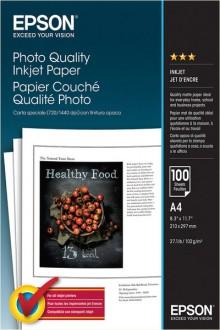 Inkjet-Papier A4 105g weiß Fotoqualität leicht matt 100 Blatt