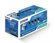 Economy Pack Toner BK/C/M/Y für AcuLaser C1100,C1100N,CX11