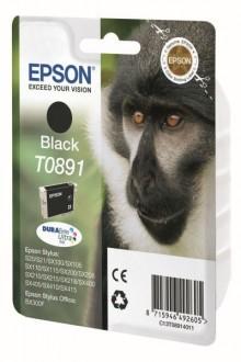 Tintenpatrone T0891 DURAbrite Ultra schwarz für Stylus S20,SX100,105,