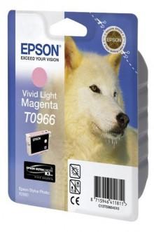 Tintenpatrone T0966 Vivid Light magenta für Stylus Photo R2880,2880
