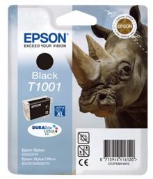 Tintenpatrone T1001 DURAbrite schwarz für Stylus SX600FX,