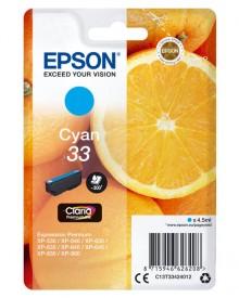 Tintenpatrone T3342 (33) cyan für Expression Premium XP-530 /