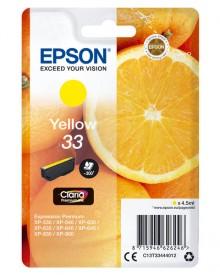 Tintenpatrone T3344 (33) gelb für Expression Premium XP-530 /