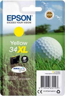 Tintenpatrone T3474 XL gelb für WorkForce Pro WF-37210DWF, WF-3725DWF