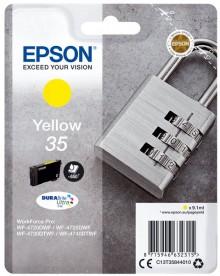 Tintenpatrone T3584 gelb für Workforce Pro WF-4720DWF, WF-4725DWF,