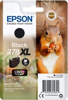 Tintenpatrone T3791 XL schwarz für Expression Photo XP-8500, 378 XL