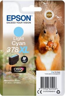 Tintenpatrone T3795 XL lightcyan für Expression Photo XP-8500, 378 XL