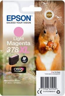 Tintenpatrone T3796 XL lightmagenta für Expression Photo XP-8500, 378 XL
