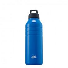 Majoris Edelstahltrinkflasche 1000 ml blau, mit Loopverschluss