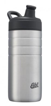 Majoris Edelstahl Trinkflasche 600 ml, Sportverschluss