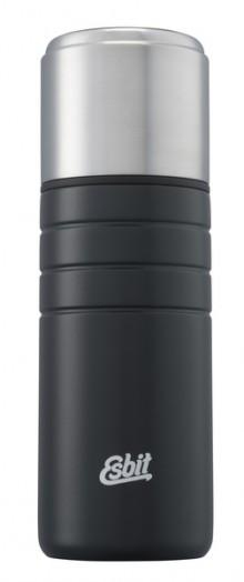 Majoris Isolierflasche 500 ml, schwarz, doppelwandig