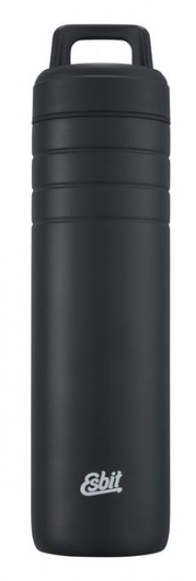 "Majoris Isolierflasche ""Daypack"" 700 ml, schwarz, Loopverschluss"