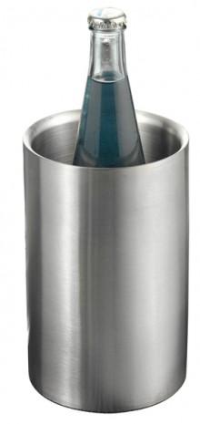 Flaschenkühler MIAMI Edelstahl doppelwandig, matt gebürstet
