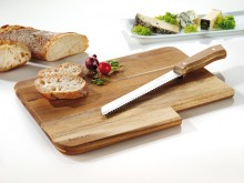 Schneidbrett JACK, inkl. Brotmesser