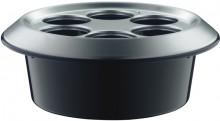 alfi Flaschenkühler Konferenzboy Aluminium silbermatt/schwarz
