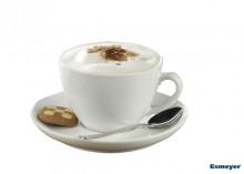 6-tlg. Set Bistrotassen für Cappuccino 0,30l weißes Porzellan