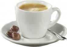 Espresso-Tassen mit Untertasse 6-tgl.