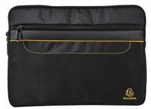 "Hülle Tablet/Laptop 13,3"" schwarz (36x35cm), gestepptem Stoff"