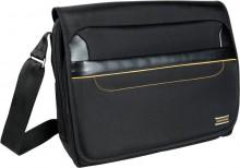 """Umhängetasche Exactive für Laptop 15,6"""", schwarz, Magnetverschluss,"""