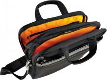 """Notebooktasche Exactive® bis 15,6"""" (39x29x5cm), Polyester, schwarz"""