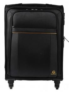 Handgepäck Koffer schwarz Mit ausziehbarem Teleskopgriff