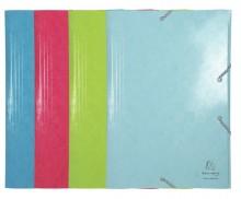 Sammelmappe 1928, A3, mit Etikett, 4- fach sortiert, Farben: tropischblau
