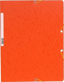 Exacompta Eckspannermappe in orange