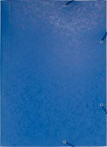 Exacompta Eckspannermappe in blau