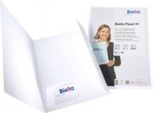 Biella Präsentationsmappe in weiß - Produktansicht
