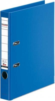 Falken Ordner PP A4 50mm blau Chromocolor mit Einsteckschild