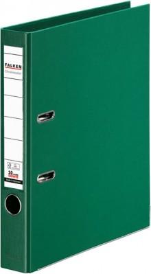 Falken Ordner PP A4 50mm grün Chromocolor mit Einsteckschild