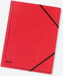Falken Eckspannermappe in rot
