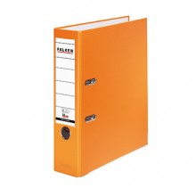 Ordner PP A4 80mm orange Chromocolor mit Einsteckschild