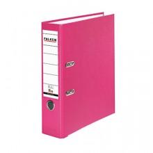 Ordner PP A4 80mm rosa Chromocolor mit Einsteckschild