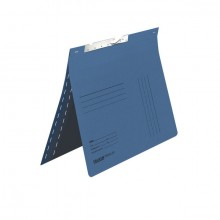 Pendelhefter, kaufmännische Heftung, mit Schlitzstanzung, blau,