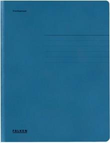 Falken Dreiklappenmappe in blau