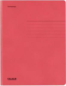 Falken Dreiklappenmappe in rot