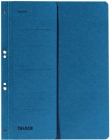 Falken Ösenhefter in blau