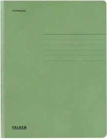 Falken Dreiklappenmappe in grün