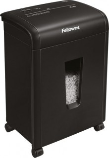 Fellowes Microshred 62 Mc in schwarz mit Sichtfenster
