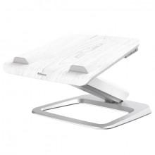 Laptop Ständer Hana Series, weiß, Höhe zwischen 10,2 - 40,6 cm, 90°