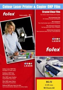 Folex Overhead-Folie A3 für Farblaserdrucker