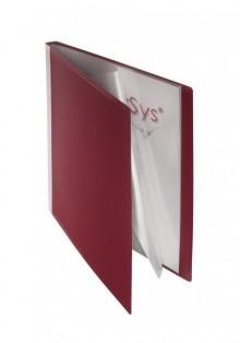 FolderSys Sichtbuch in bordeauxrot